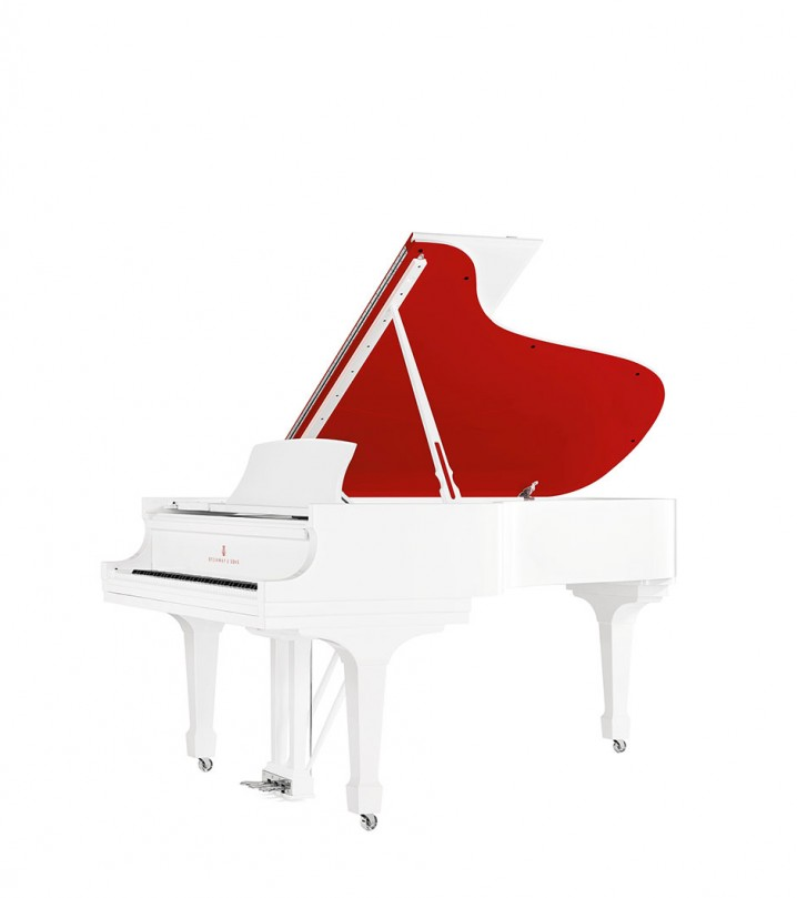 "Red Pops for (RED)"" Parlor Grand Piano"