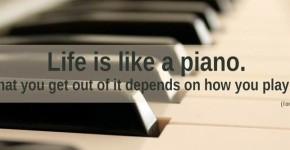 Γνωμικά με Πιάνο